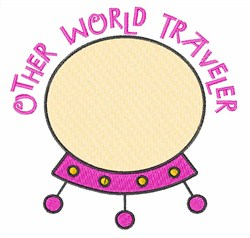 Other World Traveler embroidery design