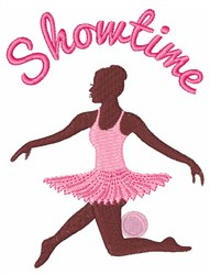Ballerina Showtime embroidery design