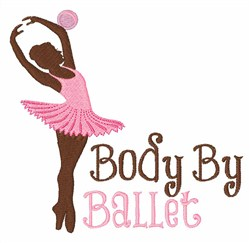 Body BY Ballet embroidery design