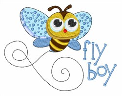 Fly Boy embroidery design