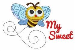 My Sweet Bee embroidery design