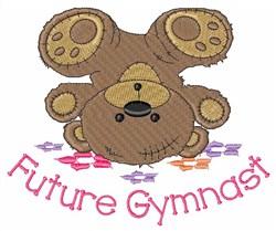 Future Gymnast embroidery design