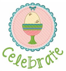 Celebrate Easter embroidery design