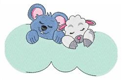 Sleeping Animals embroidery design