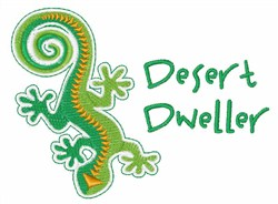 Desert Dweller embroidery design