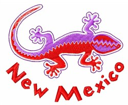 New Mexico embroidery design