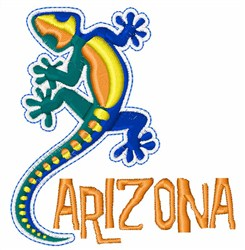 Arizona embroidery design