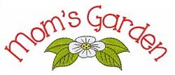 Moms Garden embroidery design