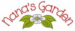 Nanas Garden embroidery design