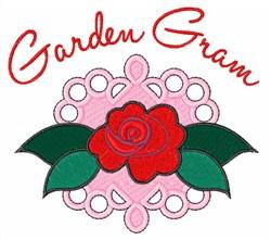 Garden Gram embroidery design