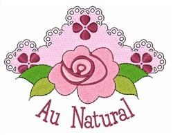Au Natural embroidery design