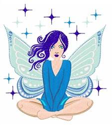 Blue Fairy embroidery design