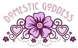 Domestic Goddess embroidery design