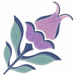Purple Tulip embroidery design
