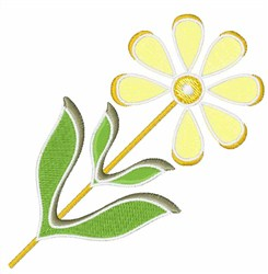 Daisy embroidery design
