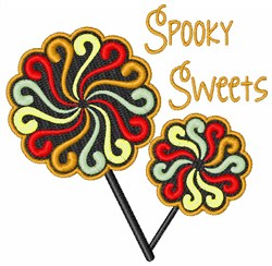 Spooky Sweets embroidery design