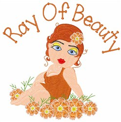 Ray Of Beauty embroidery design