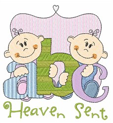 Heaven Sent embroidery design