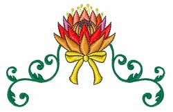 Lotus Decoration embroidery design