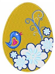 Spring Egg embroidery design