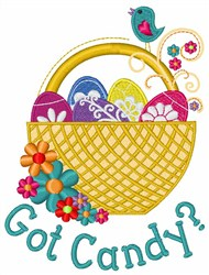 Got Easter Candy embroidery design