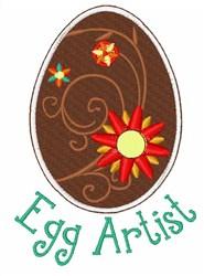 Egg Artist embroidery design