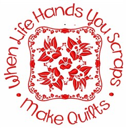 Make Quilts embroidery design