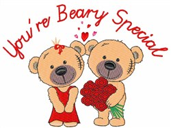 Youre Beary Special embroidery design