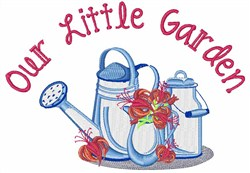 Our Little Garden embroidery design