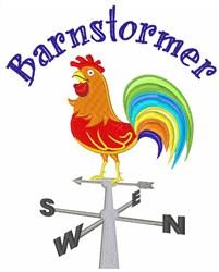 Barnstormer embroidery design