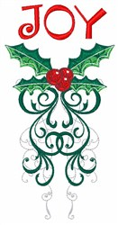 Christmas Joy embroidery design