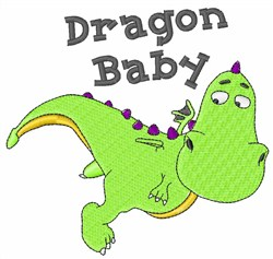 Dragon Baby embroidery design
