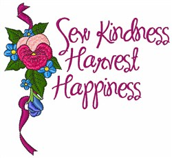 Sew Kindness embroidery design
