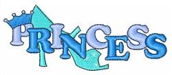 Princess Shoe embroidery design