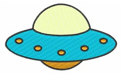 Space UFO embroidery design