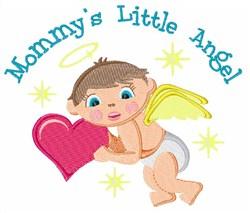 Little Angel embroidery design