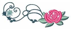 Rose Swirls embroidery design