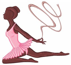 Ribbon Dancer embroidery design