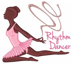 Rhythm Dancer embroidery design