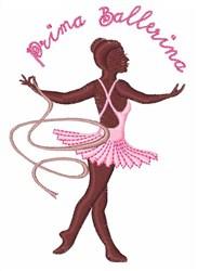 Prima Ballerina embroidery design