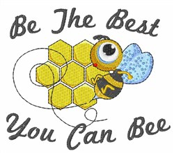 Best Bee embroidery design
