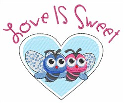Sweet Love embroidery design