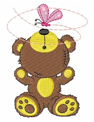 Bear Bug embroidery design