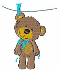 Wet Bear embroidery design