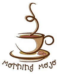 Morning Mojo embroidery design