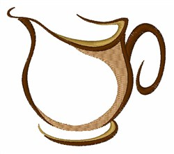 Drink Pitcher embroidery design