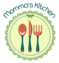 Mommas Kitchen embroidery design