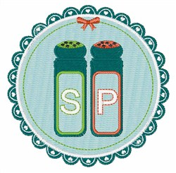 Salt Pepper embroidery design