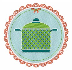 Cooking Pot embroidery design