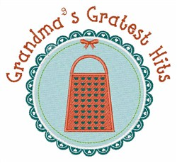 Gratest Hits embroidery design